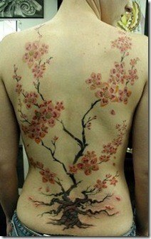 Tatuajes De Arboles De Cerezo Tendenziascom