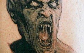Tatuajes de Halloween: Vampiros