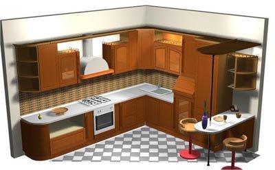 Dise o de cocinas for Diseno de muebles 3d