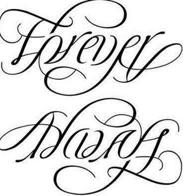 Frases para tatuar en lat  237 nForever And Always Infinity Tattoos
