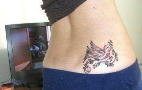 Tatuaje paloma de la paz