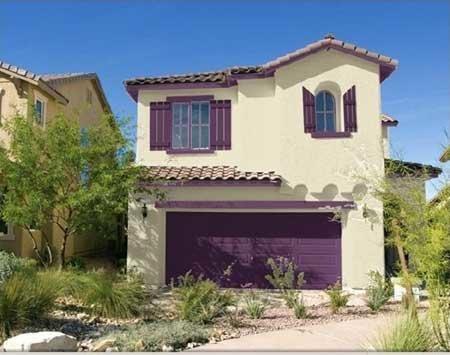 40 fotos e ideas de colores para fachadas de casas y - Como pintar la fachada de mi casa ...