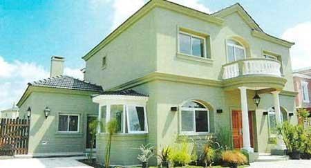 40 fotos e ideas de colores para fachadas de casas y - Pinturas para fachadas exteriores fotos ...