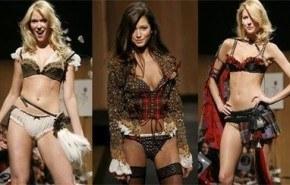 Victoria´s secret desfiló en Dressed to Kilt 2007