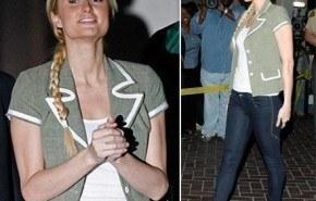Look de Paris Hilton Postprision