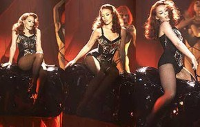 Kylie Minogue grabó un especial para la TV inglesa