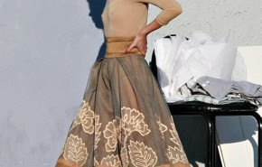 Kate Moss campaña publcitaria para Donna Karan
