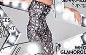 Sienna Miller tapa de la revista Vogue británica