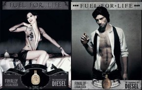 Publicidades de Fuel for life by DIESEL, USE WITH CAUTION !!