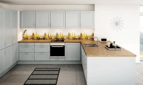 de 30 fotos de decoración de Cocinas Blancas modernas