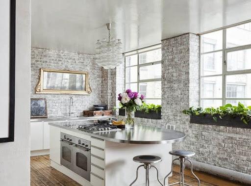 Cocinas rusticas blancas online - Decoracion cocinas modernas ...