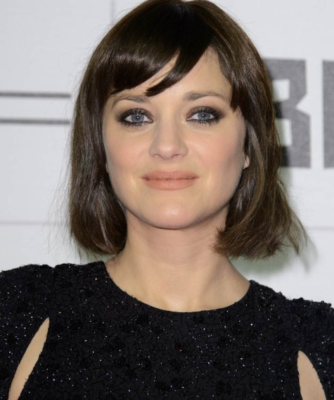 short haircuts for round face