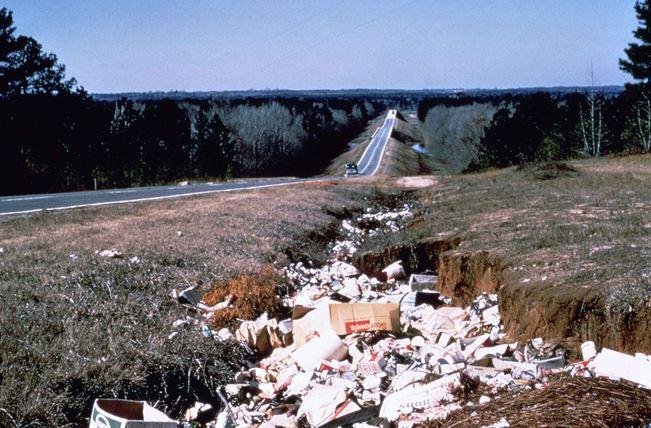 Fotos de contaminación del suelo