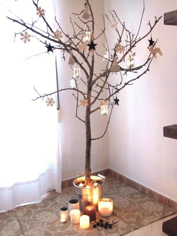 De 300 fotos de arboles de navidad 2016 decorados y - Arboles secos decorados ...