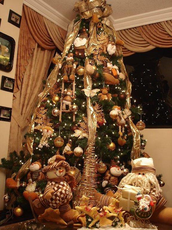 arboles-de-navidad-dorados