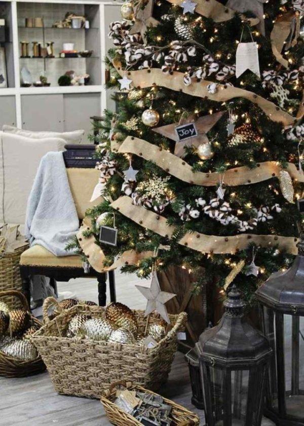 arboles-de-navidad-elegantes-con-adornos
