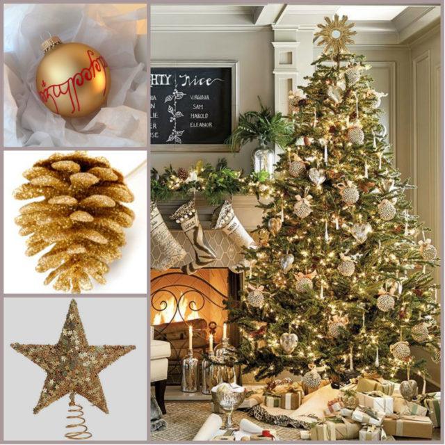 De 300 fotos de arboles de navidad 2016 decorados y originales - Arboles de navidad blanco decoracion ...