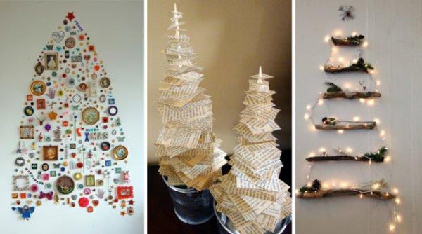 De 300 fotos de arboles de navidad 2016 decorados y - Arbol de navidad hecho de luces ...