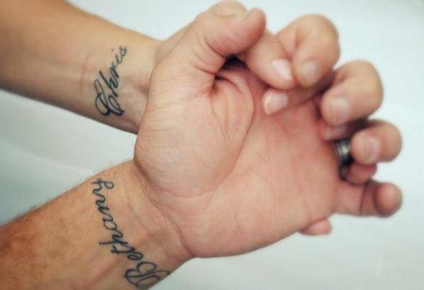 tatuajes,de,nombres,muneca,pareja