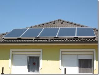 Fotos de paneles solares caseros