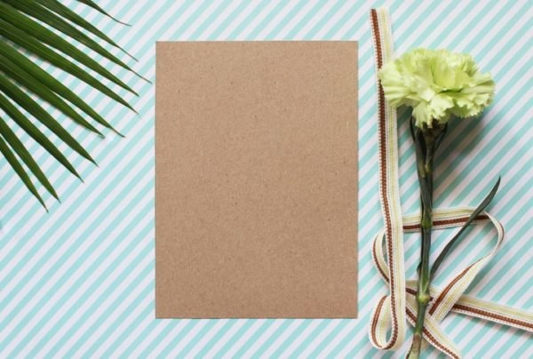 Como celebrar una boda ecologica invitaciones de boda con papel reciclado