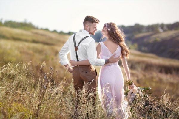 Como celebrar una boda ecologica vestido