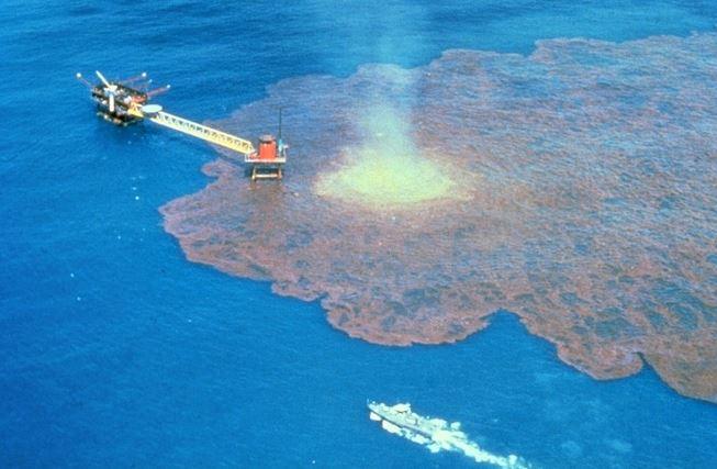 derrame de petróleo