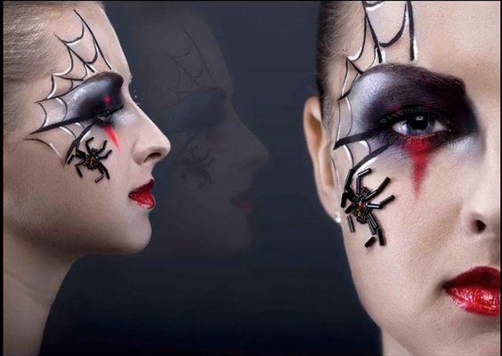 maquillaje-halloween-arana-en-el-ojo