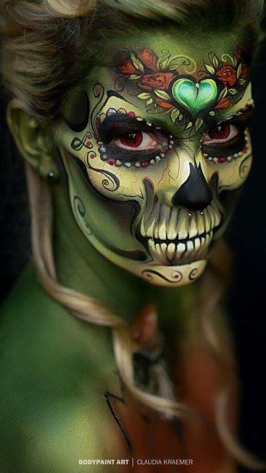 De 500 Fotos De Maquillaje De Halloween Facil Para Mujer 2019 - Maquillaje-zombie-hombre