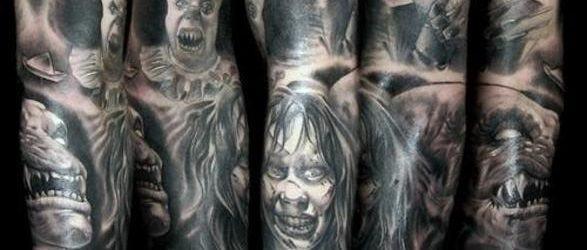 Tatuajes de Halloween: películas de terror