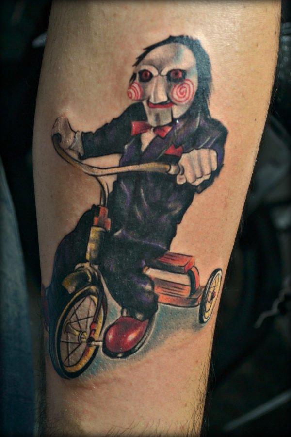 tatuajes-de-halloween-2016-peliculas-de-terror-saw