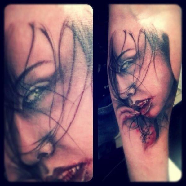 tatuajes-de-halloween-2016-vampiresa