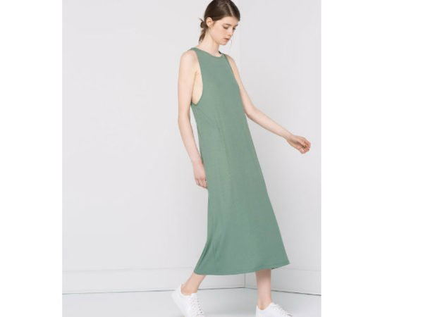 pull-and-bear-2016-vestidos-largos-verde