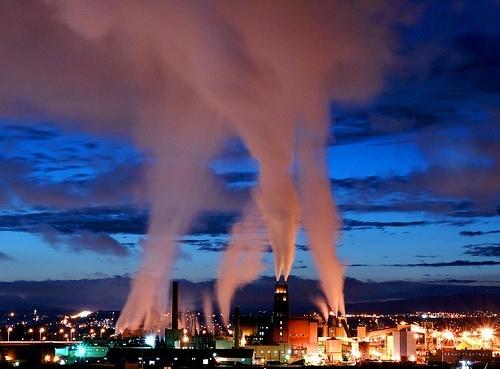Fotos de contaminación del aire
