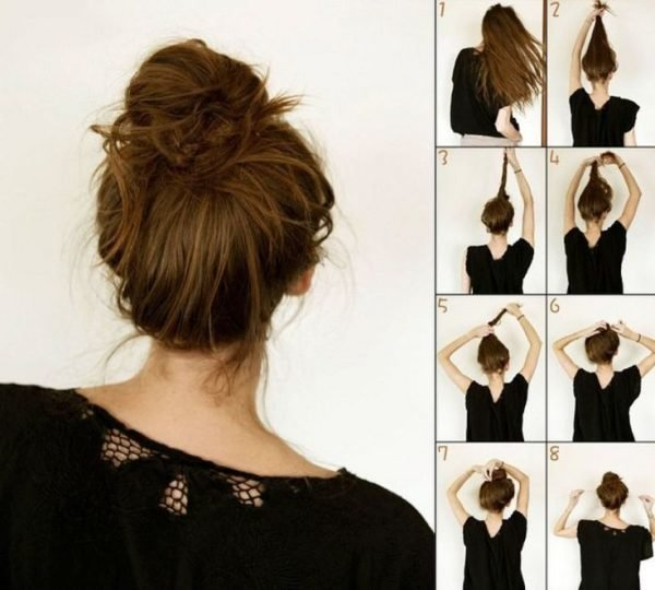 peinados-para-san-valentin-recogidos-mono-facil