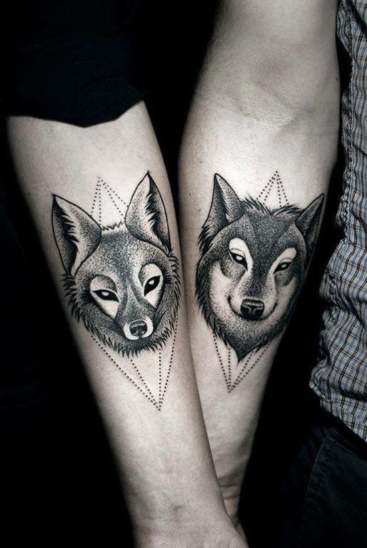 san-valentin-tatuajes-de-amor-complementarios-lobos