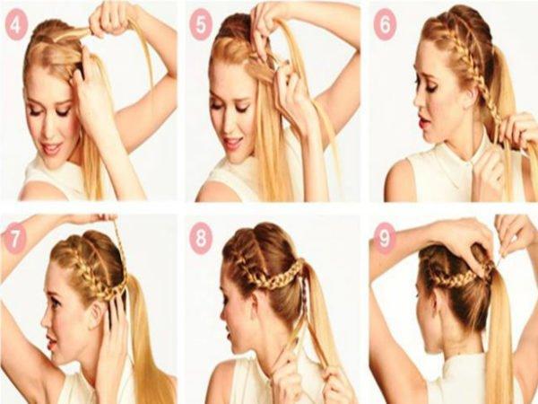 20-peinados-fáciles-y-rápidos-coleta-con-trenza