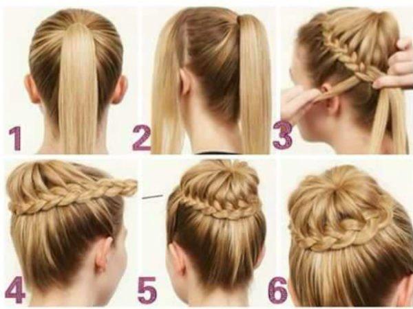 M s de 30 peinados m s f ciles y r pidos para estar perfecta - Como hacer peinado para boda ...