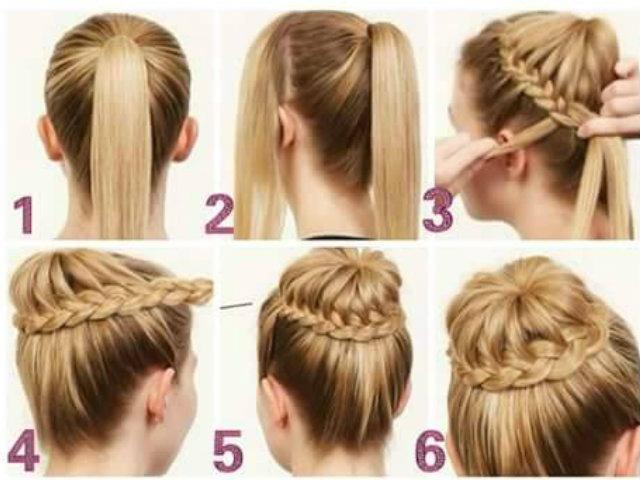 ms de 30 peinados ms fciles y rpidos para estar perfecta tendenziascom - Peinados Fciles