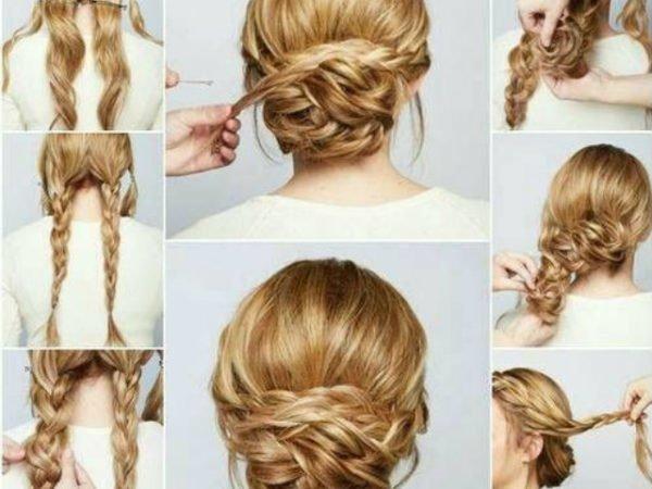 20-peinados-fáciles-y-rápidos-moño-bajo-pelo-largo