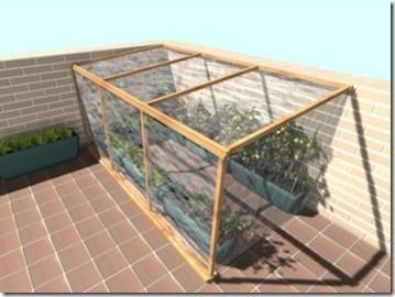 Hacer un invernadero casero for Como poner un vivero