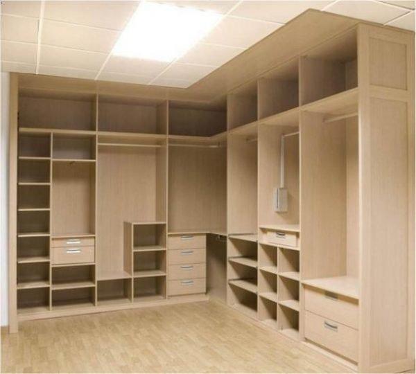 De 100 fotos vestidores modernos y peque os for Closet en madera para habitaciones