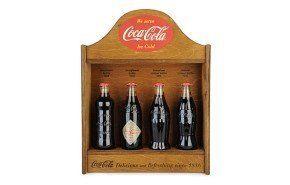 Coca-Cola celebra sus 125 años con reproducciones de sus primeras botellas