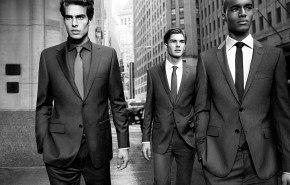 Trajes hombre DKNY otoño 2011