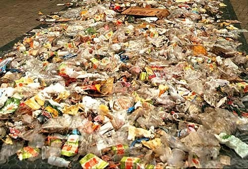 materiales no biodegradables