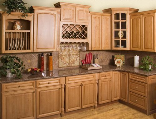 De 100 fotos de cocinas de madera for Cocina de madera antracita