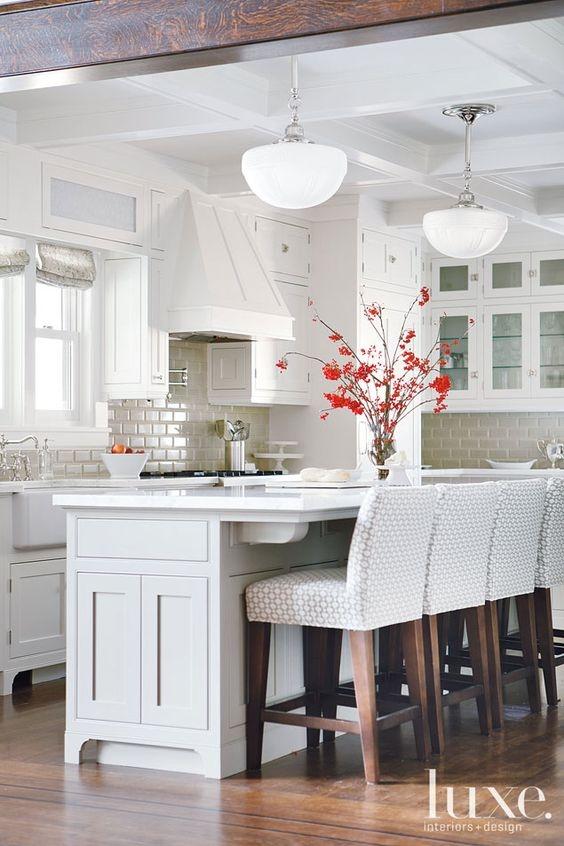 De 100 fotos de cocinas de madera for Cocinas de madera blanca
