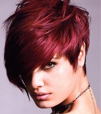 colores de moda para el pelo en 2014 color caoba rojizo