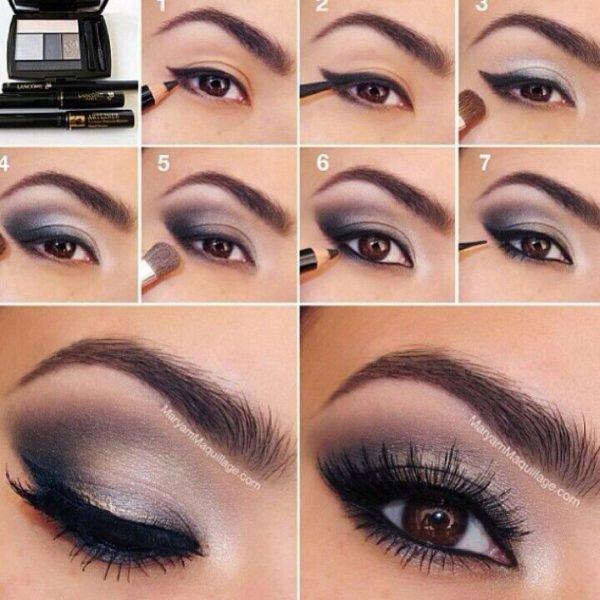 Como Maquillarse Los Ojos Paso A Paso Tendenziascom - Paso-a-paso-como-pintarse-los-ojos
