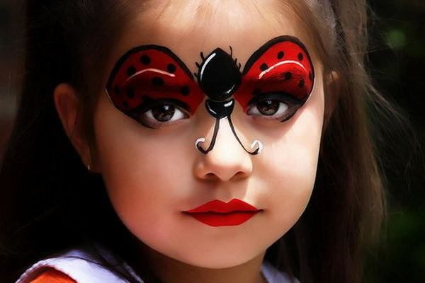 maquillaje-de-fantasia-ninos-nina-mariquita-pinterest